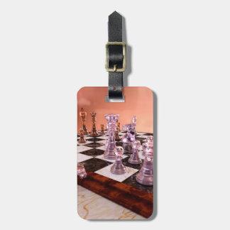 チェスのゲーム ラゲッジタグ