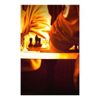 チェスのゲーム 便箋