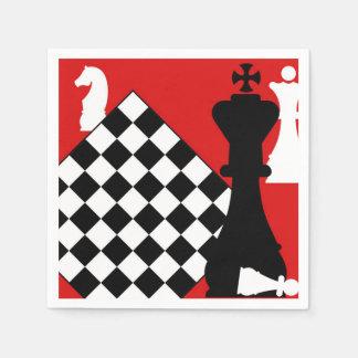 チェスのマスター スタンダードカクテルナプキン