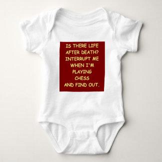 チェスの冗談 ベビーボディスーツ