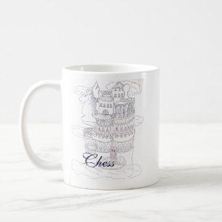 チェスの城 コーヒーマグカップ