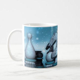 チェスの恋人のギフトのマグ コーヒーマグカップ