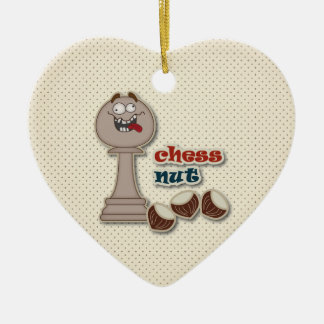 チェスの担保、チェスのナットおよびクリ セラミックオーナメント