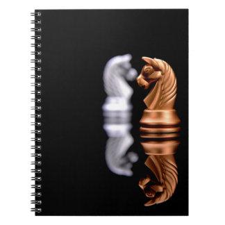 チェスの演劇のゲーム ノートブック