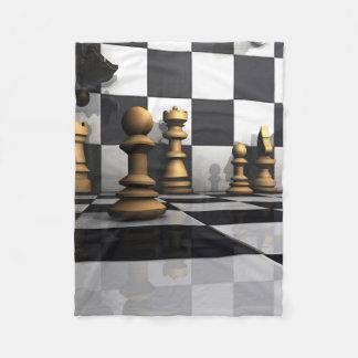 チェスの演劇王 フリースブランケット