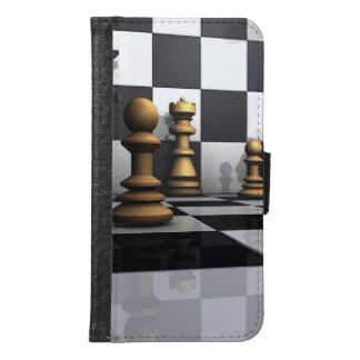チェスの演劇王 GALAXY S6 ウォレットケース
