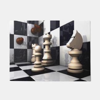 チェスの試合のスタイル ドアマット