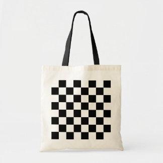 チェスの試合板 トートバッグ