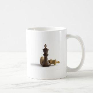 チェスの試合 コーヒーマグカップ