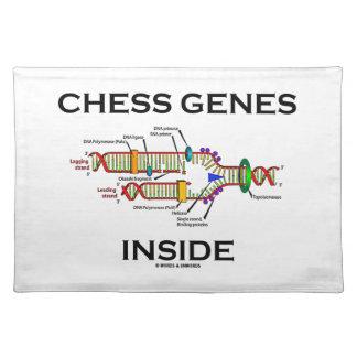 チェスの遺伝子の内部(DNAの写し) ランチョンマット