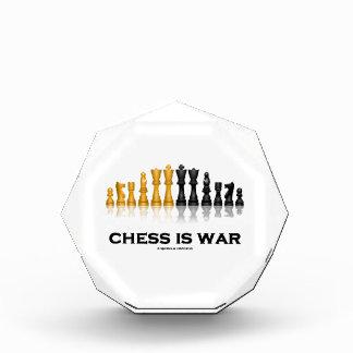 チェスはです戦争(反射チェスのこまセット) 表彰盾