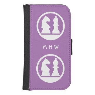 チェスカスタムなモノグラム及び色の電話札入れ ウォレットケース