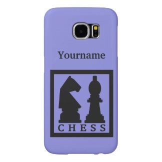 チェスカスタムなモノグラム及び色の電話箱 SAMSUNG GALAXY S6 ケース