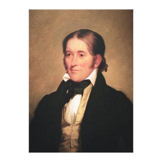 チェスターハーディング著Davy Crockett国会議員 キャンバスプリント