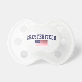チェスターフィールド米国の旗 おしゃぶり