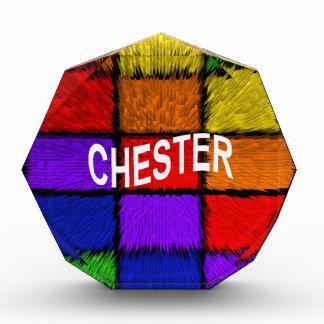 チェスター 表彰盾