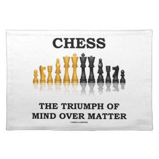 チェス問題上の心の勝利 ランチョンマット