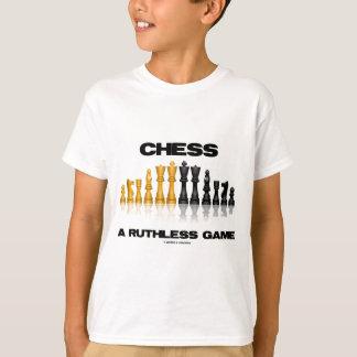 チェス無慈悲なゲーム(反射チェスのこまセット) Tシャツ