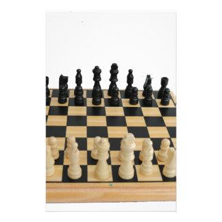 チェス盤のデザイン 便箋