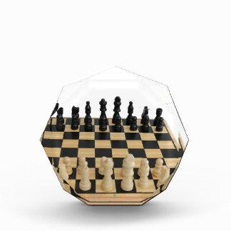 チェス盤のデザイン 表彰盾