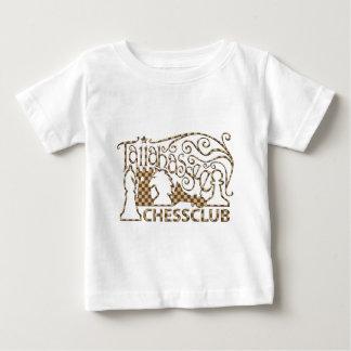 チェス盤のワイシャツ ベビーTシャツ