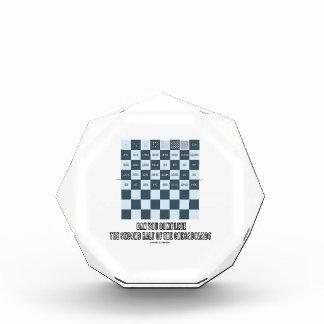 チェス盤の後半を完了できます 表彰盾