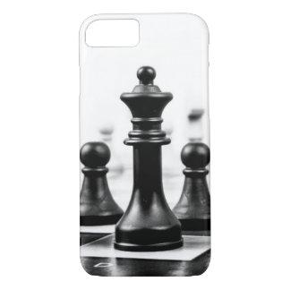チェス盤の担保および女王の例 iPhone 8/7ケース