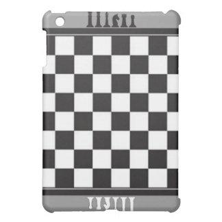 チェス盤の灰色 iPad MINI CASE