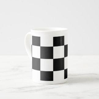 チェス盤 ボーンチャイナカップ