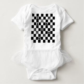チェス ベビーボディスーツ