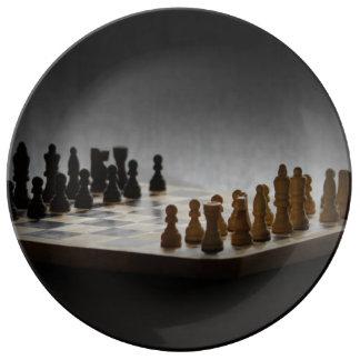 チェス 磁器プレート