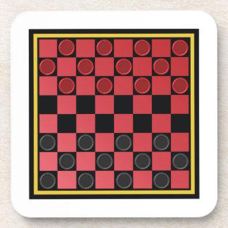 チェッカーのゲーム コースター