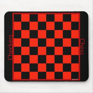 チェッカーのチェスmp マウスパッド