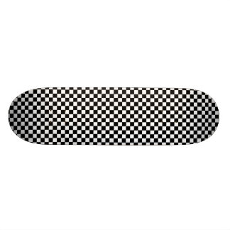 チェッカーボードのチェス盤のヒップスターのスケートボードのデッキ 18.7CM ミニスケートボードデッキ