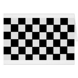 チェッカーボード カード