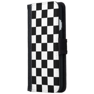 チェッカーボード iPhone 6/6S ウォレットケース