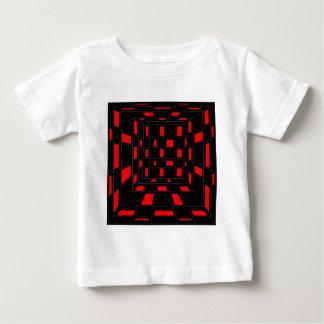 チェッカー ベビーTシャツ
