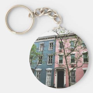 チェルシーのタウンハウス、NYC キーホルダー