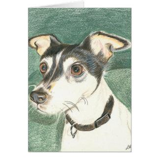 チェルシーのフォックステリア犬 カード
