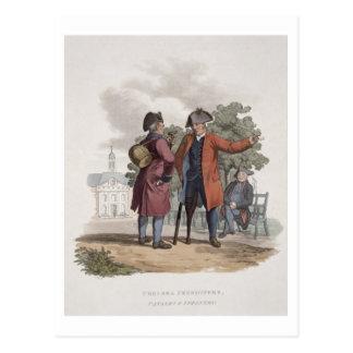 チェルシーの年金者、騎兵隊そして「Coからの歩兵、 ポストカード