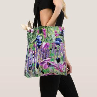 チェルシーの花、Kate Marrのバッグ著油絵 トートバッグ