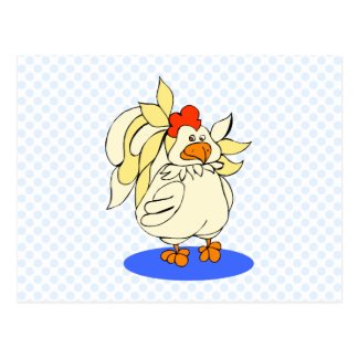 チェルシーの鶏 ポストカード