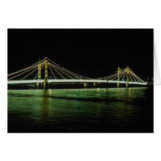 チェルシー橋、ロンドン、イギリス カード