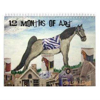 チェルシー042、芸術の12か月、チェルシーLorio カレンダー