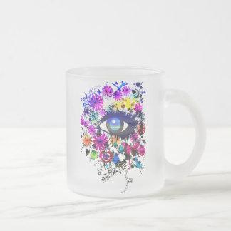チェルシー フロストグラスマグカップ