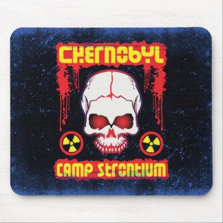 チェルノブイリのストロンチウム90のスカル マウスパッド