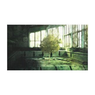 チェルノブイリのプロジェクト2012年- Pripyatのプール キャンバスプリント