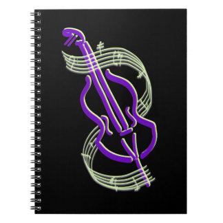チェロのデザイン ノートブック