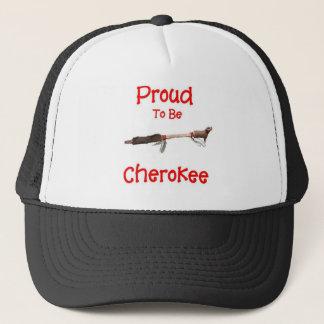 チェロキーがあること誇りを持った キャップ