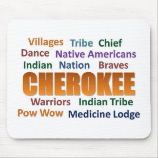 チェロキーインディアン マウスパッド
